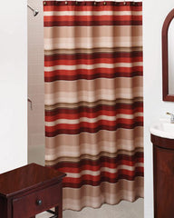 Madison Stripe- Fabric- Shower Curtain