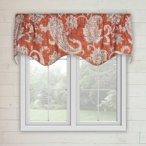Malang Lined Scalloped Valance