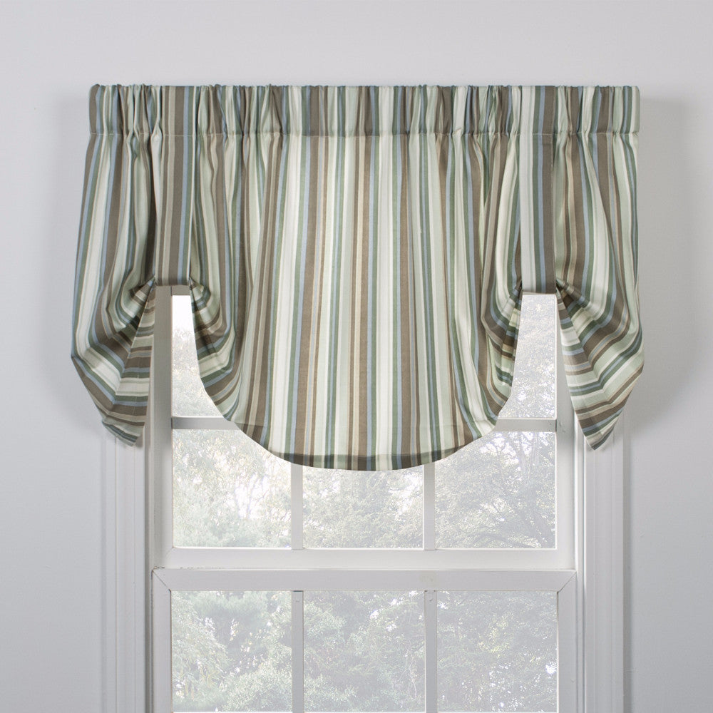Mason Stripe Tie Up Valance