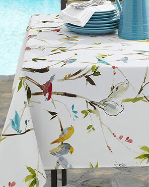 Menagerie Indoor/Outdoor Spill Proof Tablecloth