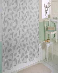 Modern Leaf Peva Shower Curtain