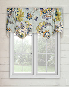 Modernism Scallop Valance