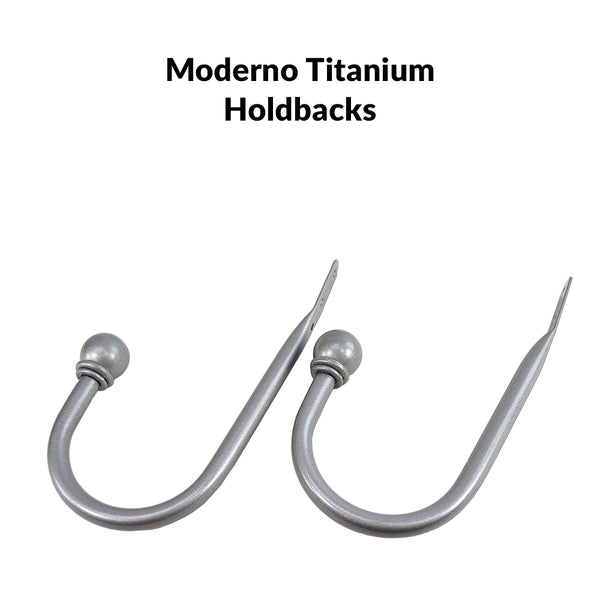 Moderno Pair of Holdbacks