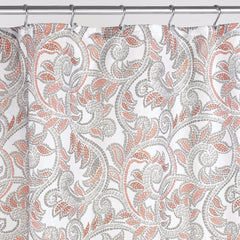 Mosaic-Vine-Shower-Curtain-Multi