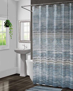 Nomad Fabric Shower Curtain