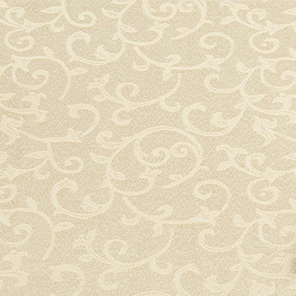 Closeup of Ecru Opal Innocence Lenox Fabric Tablecloth Fabric