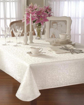 Opal Innocence Lenox Fabric Tablecloth