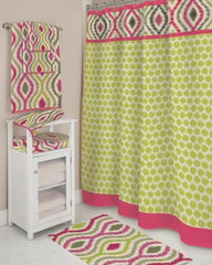 Optic Delight- Fabric- Shower Curtain