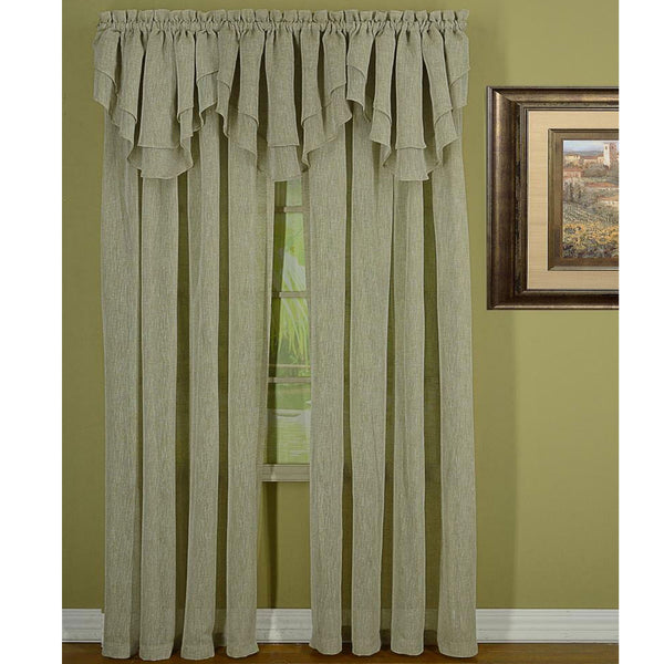 Opulence Textured Semi Sheer Panel