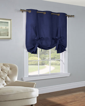 Tie Up Shades Balloon Curtains Curtainshop Com