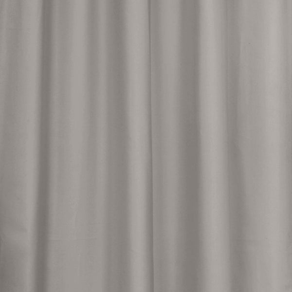 Closeup of Grey Thermalogic Prescott 5 Piece Solid Curtain Panel Pair fabric