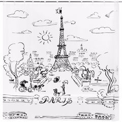 Paris-Day-Vinyl-Shower-Curtain-Clear-Zoom