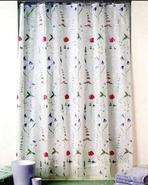 Poppies Eva Shower Curtain