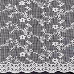 Priscilla -Bridal-Lace-Tier- Valance- and- Swag-White