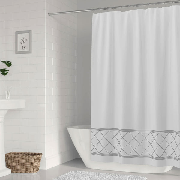 Radiance Fabric Shower Curtains by Stelli