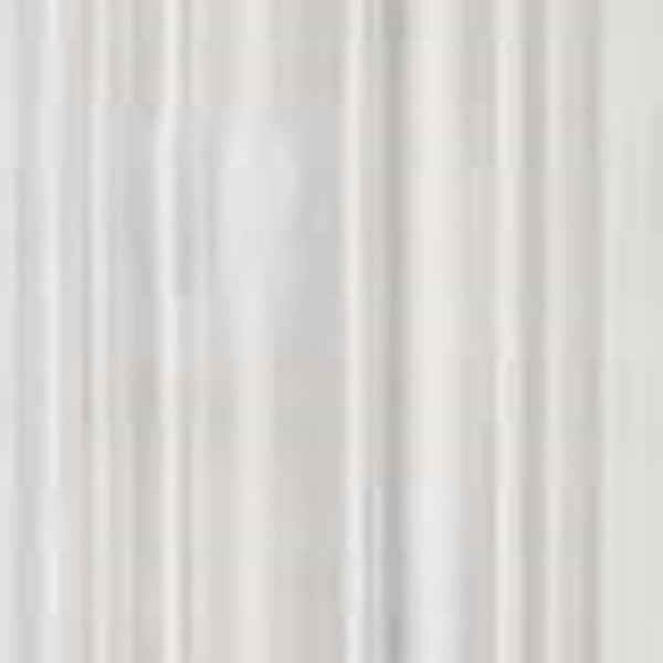 Closeup of white Reverie Snow Voile Tailored Door Panel fabric