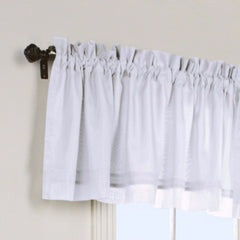 Rhapsody-Lined-Sheer-Voile-Tailored-Valance-White-Zoom