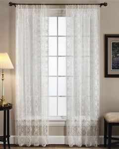 Richmond Macrame Organza Lace Panel