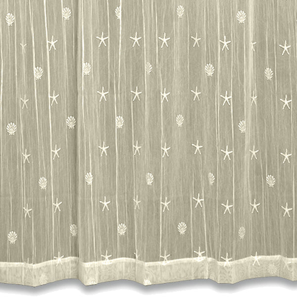 Sand Shell Lace Sheer Panel