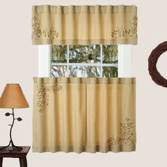 Scroll Leaf Tier & Valance
