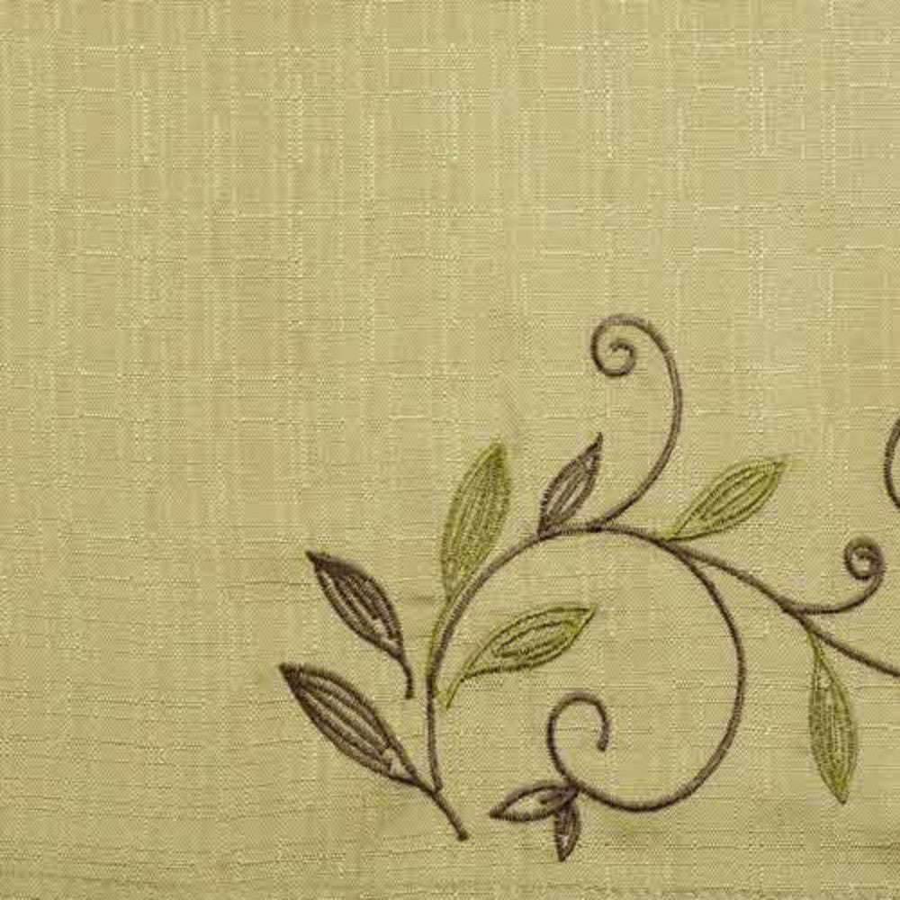 Scroll Leaf Tier & Valance-Sage