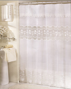 Seville Fabric Shower Curtain