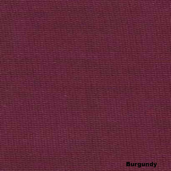 Closeup of Burgundy Voile Extra Long Sheer Curtains Panels and Scarf Fabric
