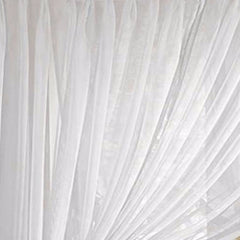 Splendor- Batiste- Pinch- Pleated-Panel- Pair-White