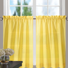 Stacey-Tier, Ruffled-Valance- and-Ruffled Swag-Yellow