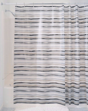 Stripz Vinyl Shower Curtain