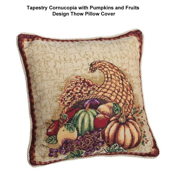 Tapestry-Cornucopia-with-Pumpkins-and-Fruits-Design-Throw-Pillow-Cover