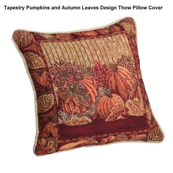 Tapestry-Pumpkins-and-Autum-Leaves-Design-Throw-Pillow-Cover