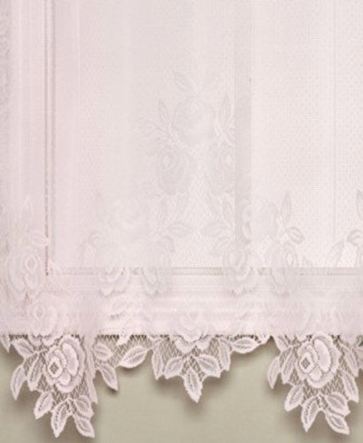 Tea Rose Lace Panel And Valance Heritage Lace