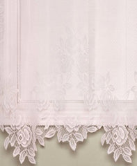 Tea-Rose-Lace-Panel-and-Valance-White