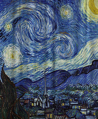 The-Starry-Night-Shower-Curtain-By-Vincent-Van-Gogh-Multi