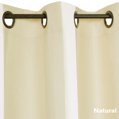 Thermalogic-Weathermate-Grommet-Top- Panel Pair-Natural