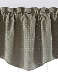 Thompson Scalloped Valance