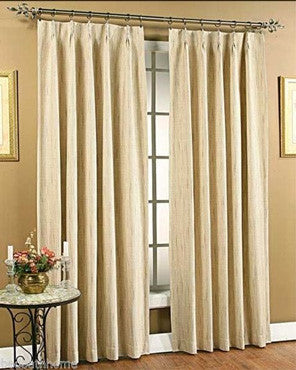 Tucson Pinch Pleat Panel Pair