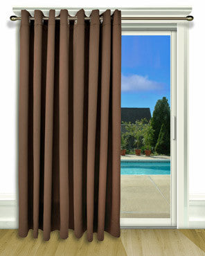 Ultimate Black Out Grommet Top Patio Panel