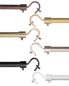 Add a Rod Round Hook Curtain Rod