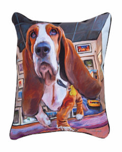 Bumping-Along-Basset-Hound-Pillow