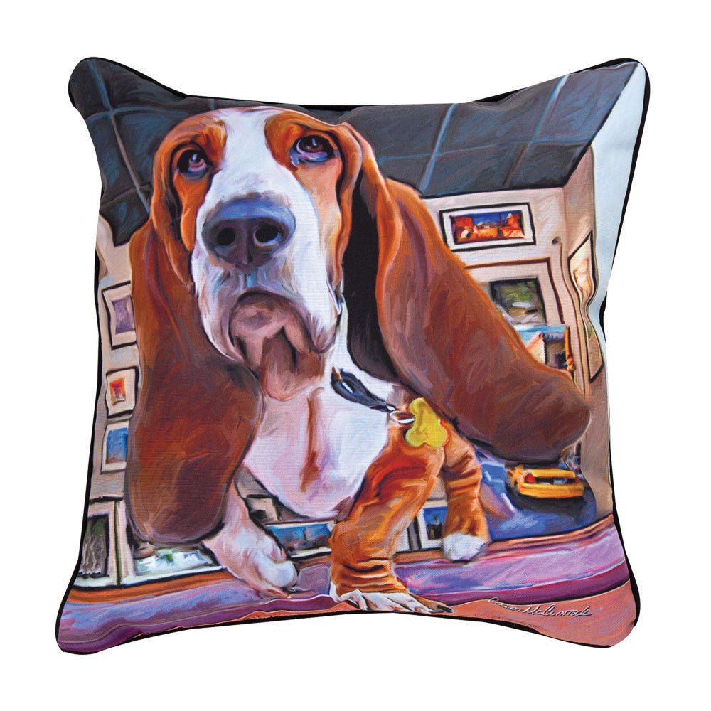 Bumping-Along-Basset-Hound-Pillow-Zoom