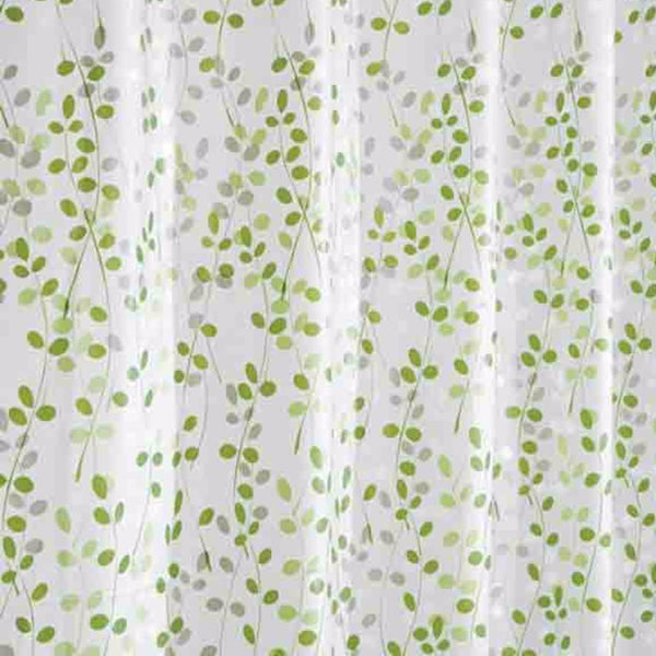 Closeup of Vine Peva Vinyl Shower Curtain