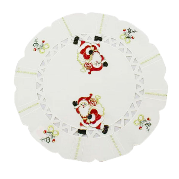 Walking Santa Table Runners