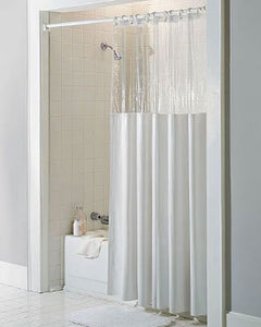 Window Vinyl Shower Curtain