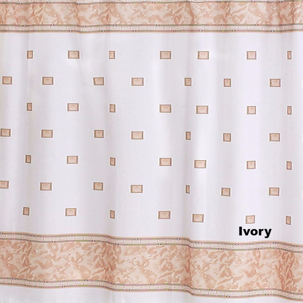 ... Windsor Fabric Shower Curtain Ivory ...