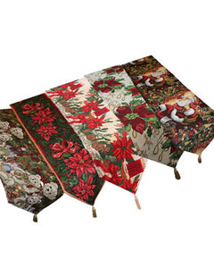 "Christmas Tapestry 70"" Tablerunners"