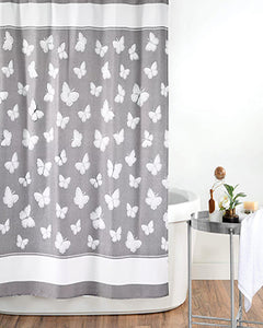 Yara Fabric Shower Curtain