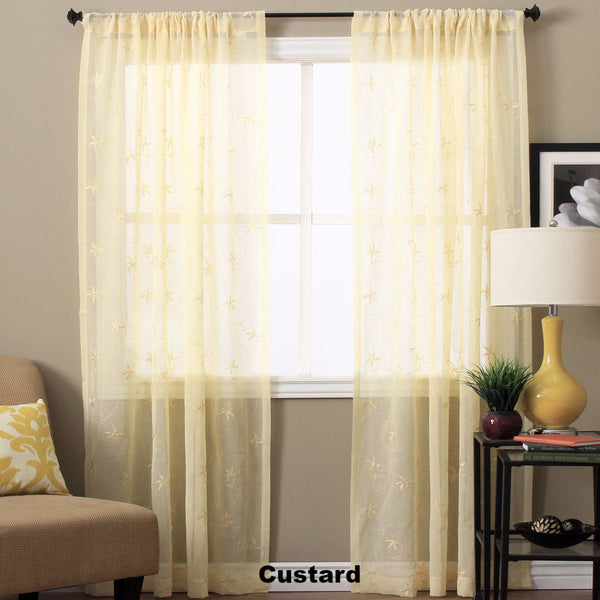 Zurich-Semi-Sheer-Panel-and-Valance-Custard