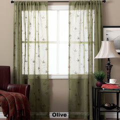 Zurich-Semi-Sheer-Panel-and-Valance-Olive